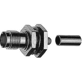 R-TNC connector Socket, straight 50 Ω Telegärtner J01011R0000