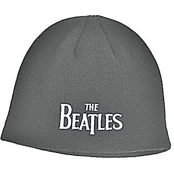Beatles Drop T (Black) Woven Beanie Hat - Official Product