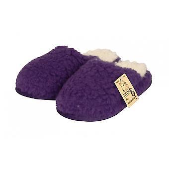 Laine de chaussons bien-être violet 38/39