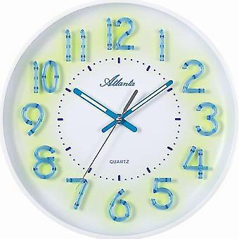 Атланта 4459/0 настенные часы кварцевые аналоговые знает о silent нет клеща