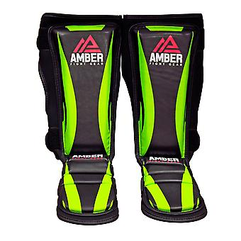 Contender Training Muay Thai Shin and Instep For Muay Thai Kickboxing Protective Training Sparring Shin Guards Pair