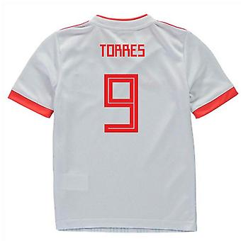 2018-2019 Spagna Away Adidas Mini Kit (Torres 9)