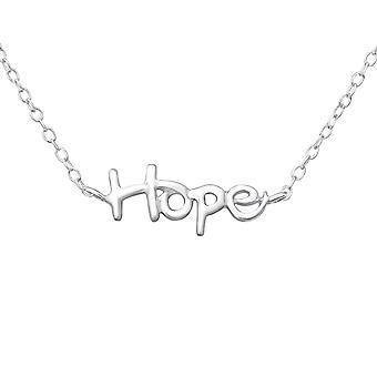 Hope - 925 Sterling Zilver Plain kettingen