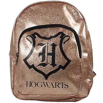 Harry Potter Kinder nieuwigheid Gold Glitter rugzak, 4,7 liter