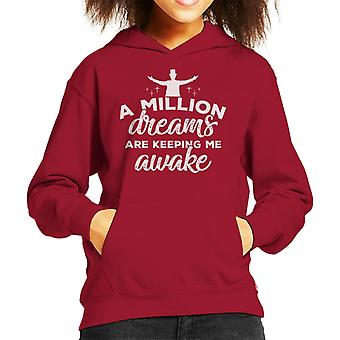 The Greatest Showman A Million Dreams Kid's Hooded Sweatshirt