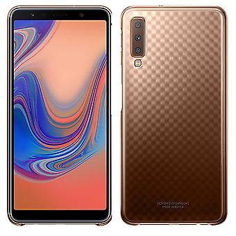 Samsung gradation cover gold EF AA750CFEGWW for Galaxy A7 A750F 2018 bag sleeve case