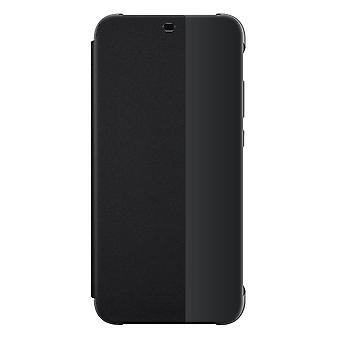 Huawei P20 Little Flip View Book Case Original Black