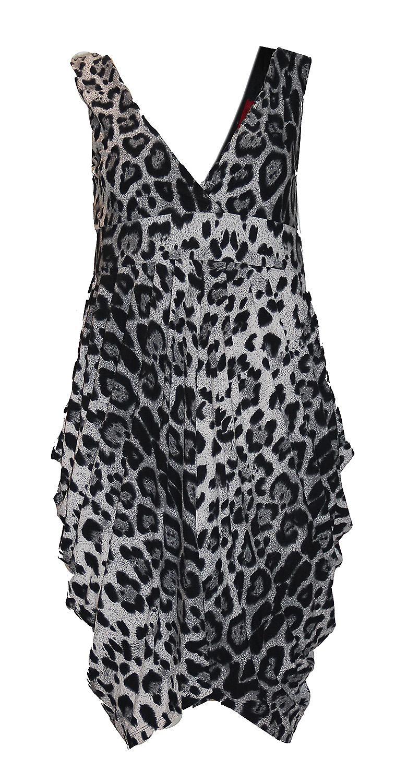 Waooh - Fashion - asymmetric dress with leopard print