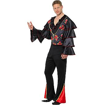 Flamenco dancer mens costume Spanish carnival Carnival