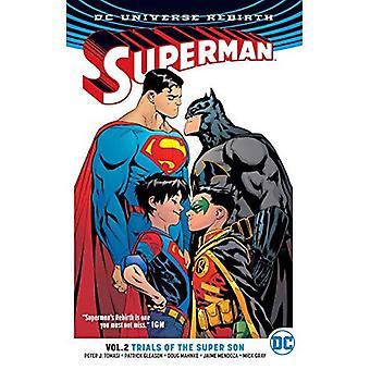 Superman Heft 2: Versuche mit der Super Sohn