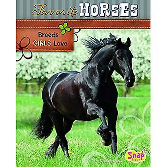 Favorite Horses: Breeds Girls Love (Crazy about Horses)