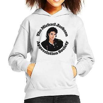 Michael Jackson Appreciation Society Kid's Hooded Sweatshirt