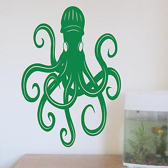 Kraken wall art sticker