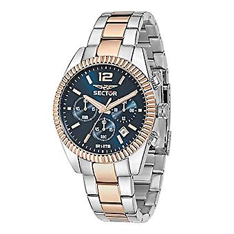 Sector men's analog quartz watch with stainless steel band R3273676001