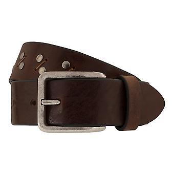 MIGUEL BELLIDO jeans belts men's belts leather belt Brown 7821