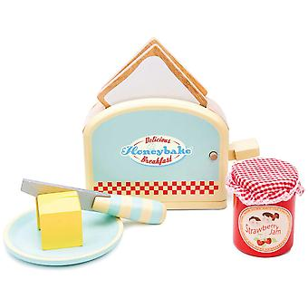 Le Toy Van Honeybake Play Toaster and Toast