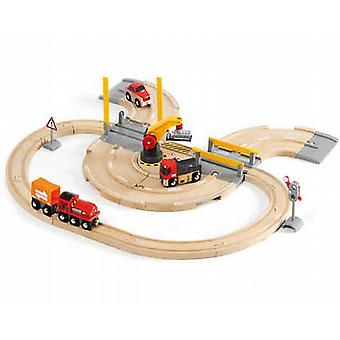 BRIO Rail & Road Crane Set 33208 33208