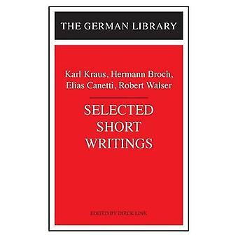 Selected Short Writings by Kraus & Karl