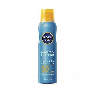 Nivea [Sun] protéger & actualiser F50 Spray 200Ml