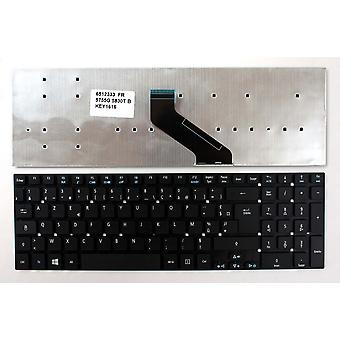 Acer Aspire 5755G-2314G64MNBS Black Windows 8 French Layout Replacement Laptop Keyboard