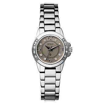 ORPHELIA Ladies Analogue Watch Romantic Silver Stainless steel 122-2709-88