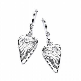 Cavendish French 'Straight from the Heart' Silver Earrings