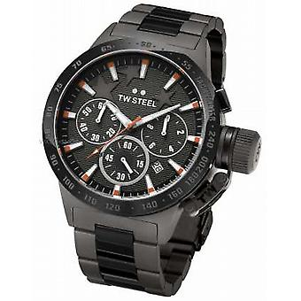 TW Steel Canteen Michel Mens Black Chronograph TW0313 Uhr