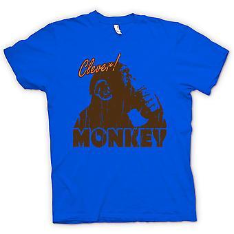 Kinder T-shirt-Clever Monkey - der Denker - lustig