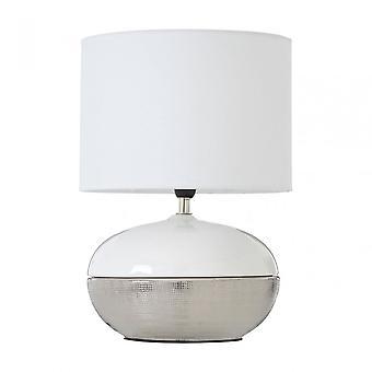 Premier Home honing tafel lamp, zilver