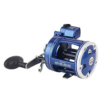 Left hand spinning reel with acl counter trolling reel fishing line round for sea fishing