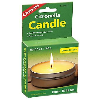 Coghlans Yellow Citronella Candle