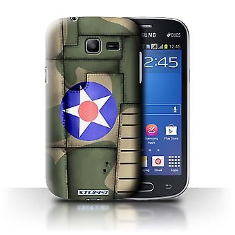 STUFF4 Case/Cover for Samsung Galaxy Star Pro/S7260/America/Green/Airplane Fighter Wing