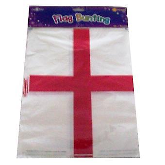 England St Georges flagga Bunting Banner 20 flaggor 10M Rugby World Cup dekorationer