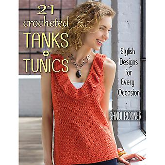 Stackpole Books-21 Crocheted Tanks & Tunics STB-14839