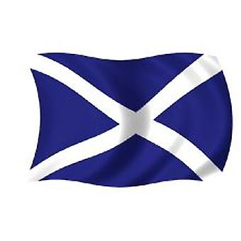 Scotland/St Andrews Flag 5ft x 3ft (100% Polyester) With Eyelets For Hanging