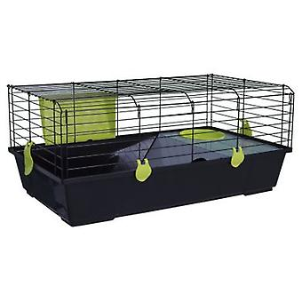 Voltrega Black Rabbit Cage 530 (Small animals , Rabbits , Cages and Parks)