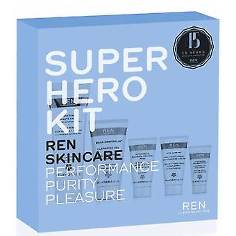Ren Skincare Super Heroes Kit (Woman , Cosmetics , Skin Care , Facial Cleansing)