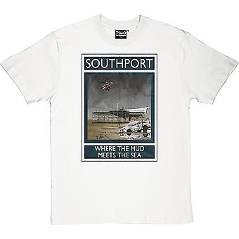 Southport: Where The Mud Meets The Sea Men's T-Shirt