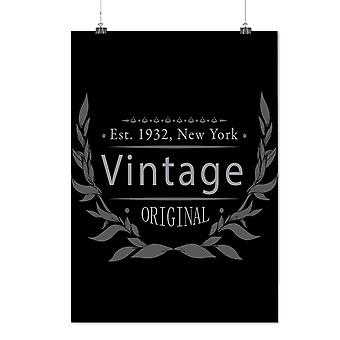 Matte or Glossy Poster with New York City Vintage | Wellcoda | *d1600