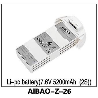 (7.6V 5200mAh batería de Li-po) 2S Aibao-z-26