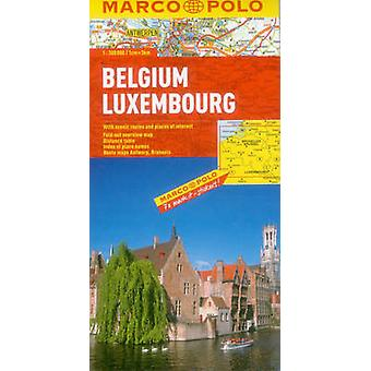 Belgium  Luxembourg Marco Polo Maps by Marco Polo