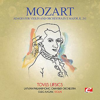 Mozart - Adagio for Violin & Orchestra in E Major K. 261 USA import