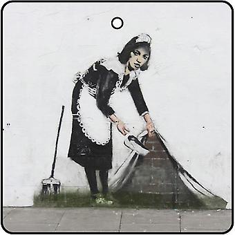 Banksy Maid Of London Car Air Freshener