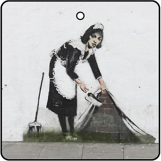 Banksy Maid Of London Désodorisant