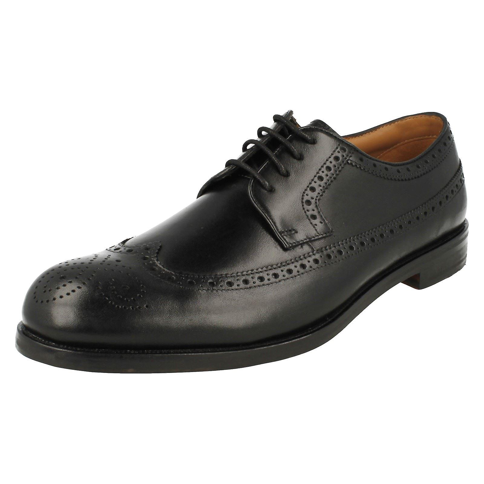 Mens Clarks Formal Brogue Style Lace Up Shoes Coling Limit