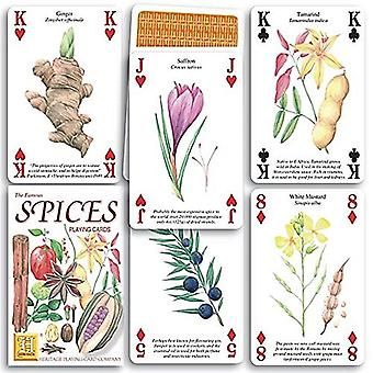Spices set of 52 playing cards (+ jokers)    (hpc)