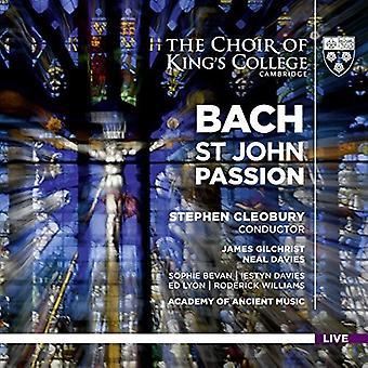 Bach, J.S. / Wigan / Gilchrist / Davies - Johann Sebastian Bach: St. John Passion [SACD] USA import