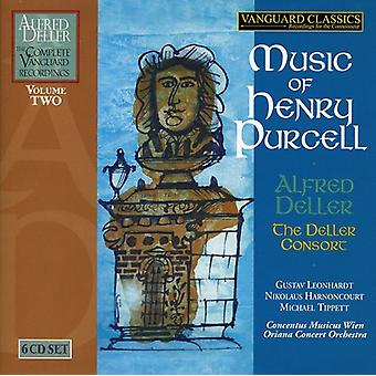 Alfred Deller & the Deller Consort - Music of Henry Purcell [Box Set] [CD] USA import
