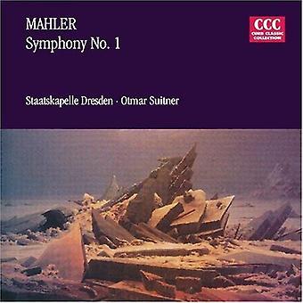 G. Mahler - Mahler: Importazione Sinfonia n. 1 [CD] Stati Uniti d'America