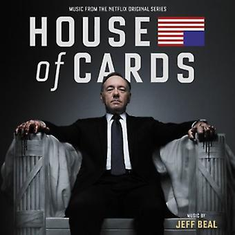 Jeff Beal - Castillo de naipes [música de la Netflix Original Series] [CD] USA importar
